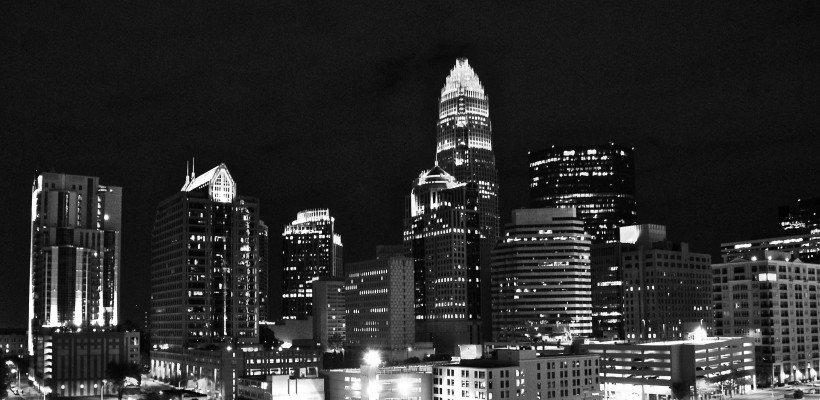 Charlotte, NC City Skyline